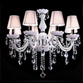 Modern crystal chandelier K9 crystal 110 240V lustres de cristal chandelier for living room or bedroom