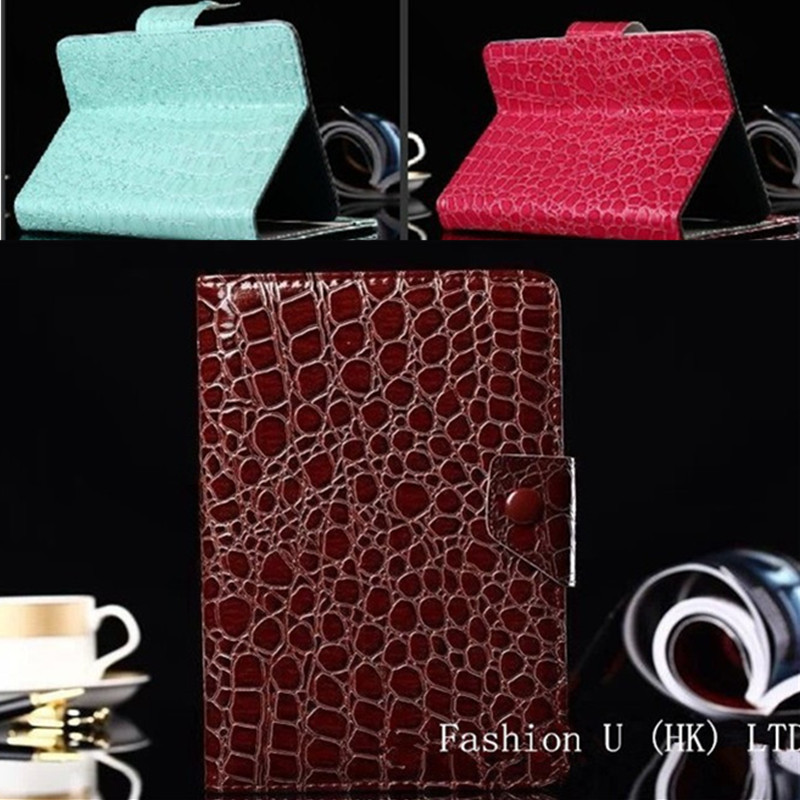 Luxury stand Pu leather flip universal 7 inch Android Tablet case cover Samsung Apple Lenovo HTC,Snakeskin grain luxury - Fashion U (HK store.,LTD)
