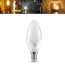 Buy LED Light Bulb E14 High PF 5W SMD 2835 Edison Candle Bulb Enerey Saving LED Lamp Bulbs Home Chandelier Lighting AC85-265V for $2.51 in AliExpress store