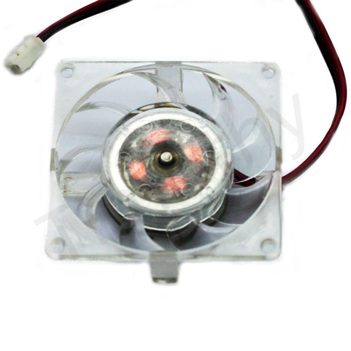 Hot! 40 mm 2pin Square SVGA/VGA Video Card Chipset/Chip Cooling Heatsink COOLER Fan 1 #FS018 - ShenZhen MANNA HOME store