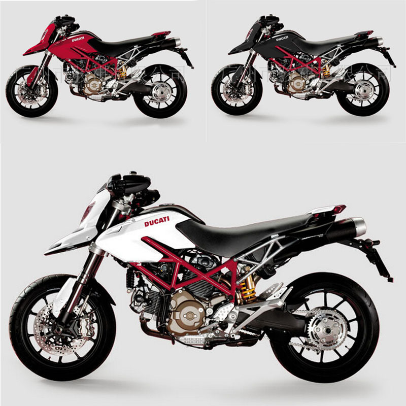 1:12 scale new kids Motorcycle DUCATI Hypermotard 2010 Diecast model motorbike Alloy metal action figure models race bike toys(China (Mainland))