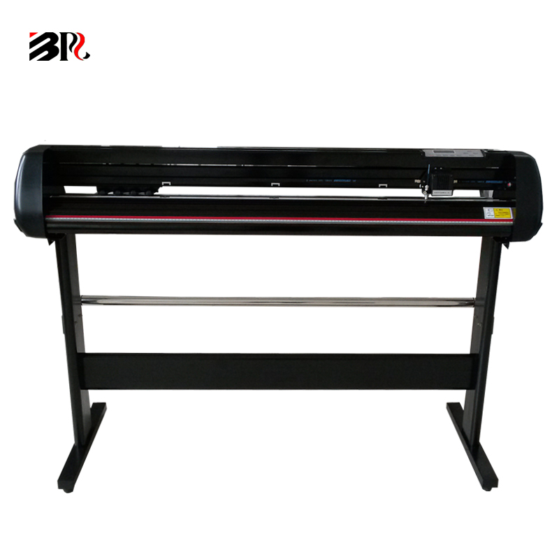 free software PVC adhesive sticker vinyl cutting machine BR-1350 support 90V-260V 54 inches cutter plotter cutting width 1260mm(China (Mainland))
