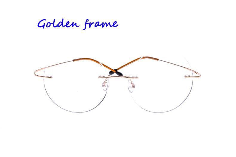 Highest Quality Titanium Eyewear Frameless Titanium Eye ...