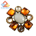 Charm Brooches European and American Popular Resin Material Brooch