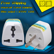 Buy 110V-250V 10A International Universal Travel Adapter Euro EU UK US AU Plug Converter Australia Wall Socket Adaptor Adaptador for $47.00 in AliExpress store
