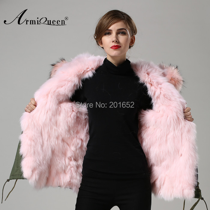 Facebook instagram 100 real genuine raccoon pink fur - Pink fox instagram ...