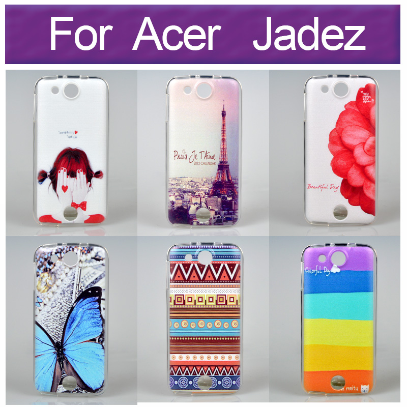 Artistic Color Drawing Design Paiting Back Case Cover For Acer Liquid Jade Z With Different Choices(China (Mainland))