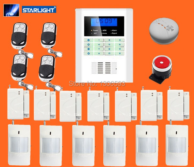 Office security system detector alarm system security home for Self security system