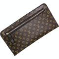 Ladies PU Leather Soft Thin Purse Designer Long Wallet Luxury Brand Women Famous Envelope Pouch Clutch