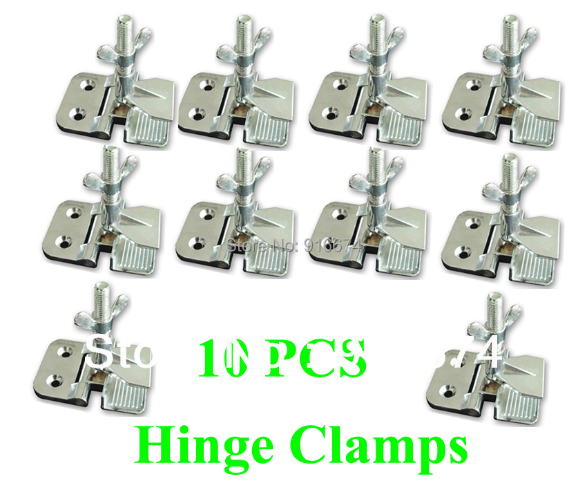 """Fast Free Shipping Discount 10pcs Screen Printing Butterfly Hinge Clamps wholesale 2"""" thickness perfect registration(China (Mainland))"""