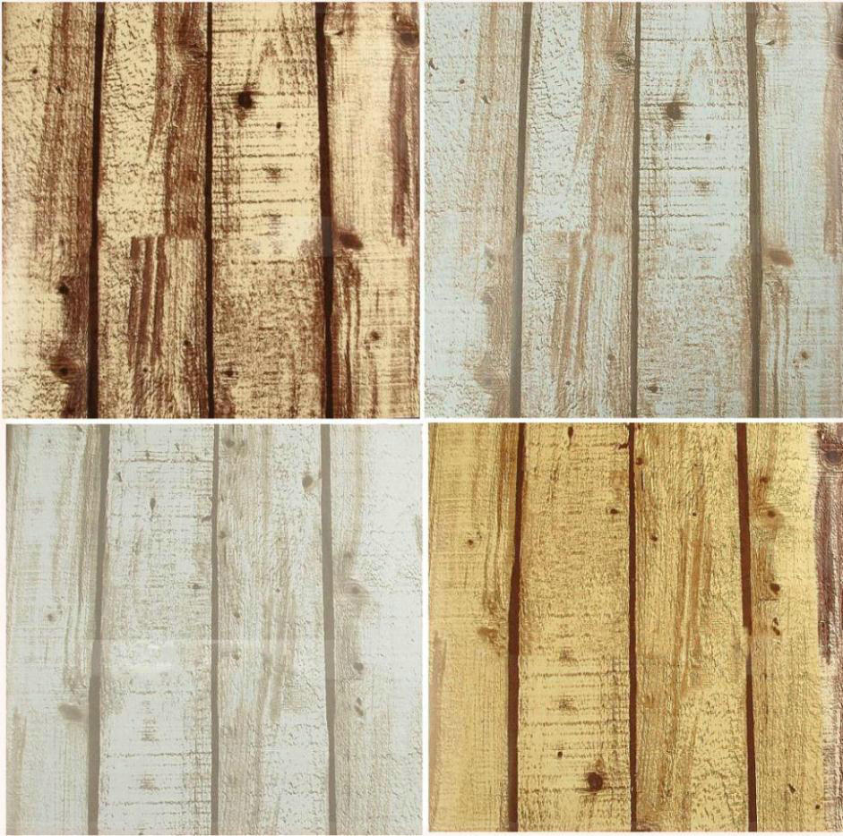 Natural Realistic Rustic Wood Panel Grained Effect Feature Designer Textured Vinyl 10M Wallpaper Roll Decor Art Vintage W521 pap(China (Mainland))