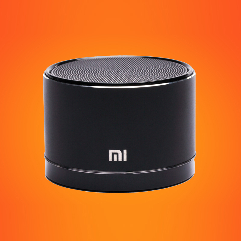 Original Xiaomi Portable Speaker Small Steel Gun Wireless Bluetooth Speaker Mini Cylindrical Handsfree Speaker for smartphones(China (Mainland))