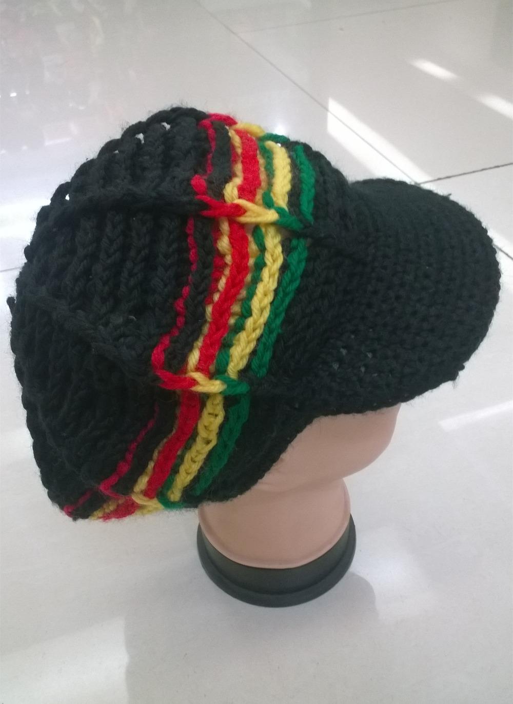 Chinese Rastafarian Rasta Mutsen Ho...
