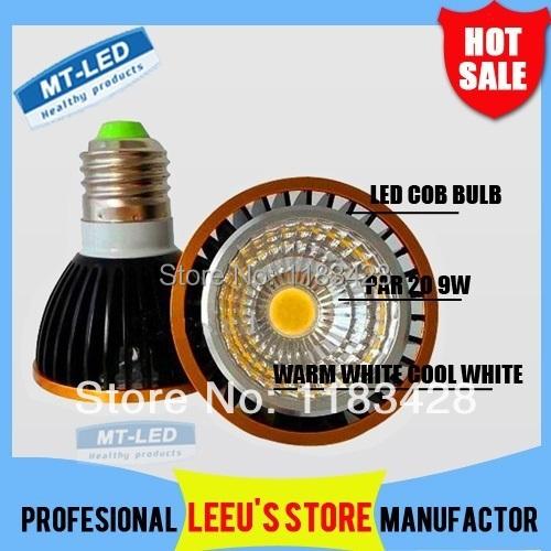 x10 Free shipping High power GU10/E27 9W 12W Par20 110-240V CREE COB Led Lamp Dimmable  Led Spotlight led bulb downlight  lamp<br><br>Aliexpress