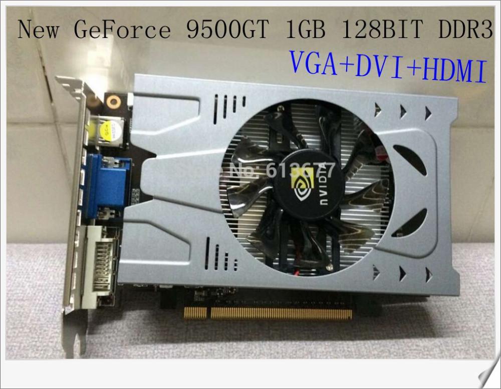 GeForce 9500GT 1 ГБ 128BIT DDR3 видеокарта фото