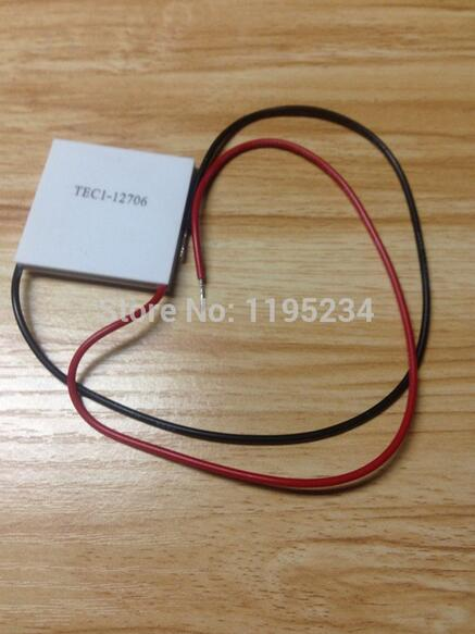 Free shipping 20pcs/lot TEC1 12706 12v 6A TEC Thermoelectric Cooler Peltier (TEC1-12706) Best quality(China (Mainland))