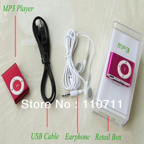 MP3-плеер Brand New mp3 Micro TF/SD 100 Mini MP3 Player mp3 плеер oem 2015 mp3 micro sd tf 6 clip 4