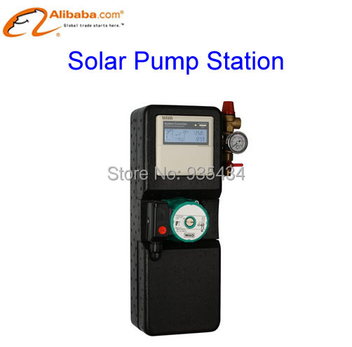 SP106 solar pump station, solar water heating controlling system(China (Mainland))