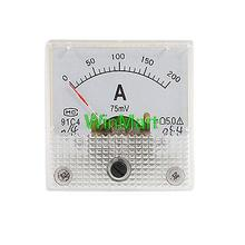Buy 0-200A Scale DC Current Panel Meter Analog Amperemeter for $8.39 in AliExpress store