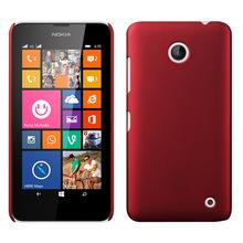 Красочные резиновые матовая жесткий 630 чехол Fundas для Nokia Lumia 630 чехол 635 задняя крышка матовый защиты задняя крышка чехол кожи коке
