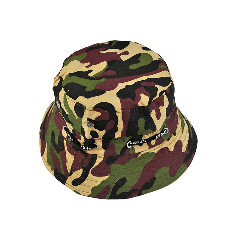 Hot sale cotton bucket hat boonie cap hunting fishing for Fishing hats for sale