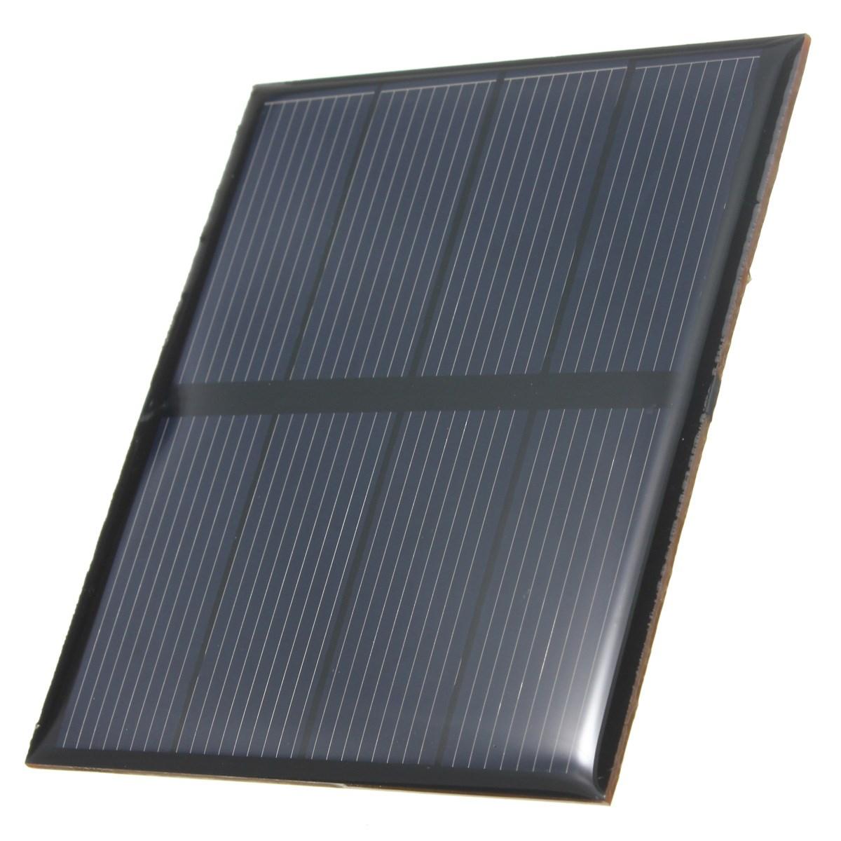 Hot Sale 2V 0.6W 300mAh Polycrystalline Silicon Epoxy Solar Panel Mini Solar Cells DIY Solar Module Stored Energy Power(China (Mainland))
