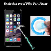 Nanomaterials Explosion-proof Protector Film for iPhone 4 4S 5 5S 6 6S 6Plus 6sPlus Screen Protector HD Film Not Tempered Glass