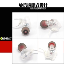 2016 In the high end custom movement Headset high quality bass music earphones running mobile phone