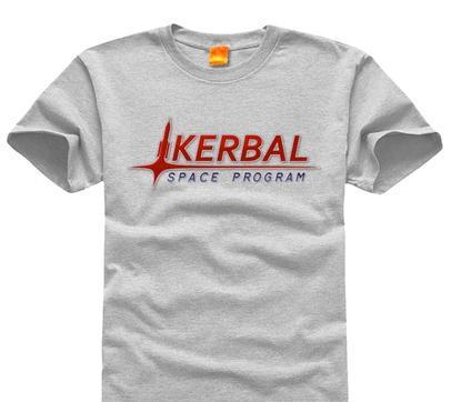 Mr Barak space program kerbal men's and women's short sleeve T-shirt to figure custom/by hypertrophy 001(China (Mainland))