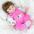 Lifelike 42cm baby reborn dolls silicone reborn babies bonecas children sleeping dolls toys for children