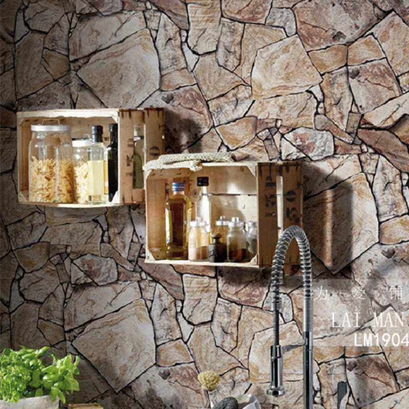 3d stone wallpaper waterproof coffee wall paper for for 3d stone wallpaper for walls