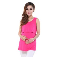 Modal maternity Underwaist breastfeeding undershirt homecoming dresses clothes for pregnant women maternity clothing nursing