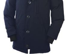 2016 Livraison gratuite Canada Hommes D'hiver Imperméable Respirant manteau en Duvet D'oie veste Loup de col de fourrure Hommes Vers Le Bas veste Parka w1(China (Mainland))