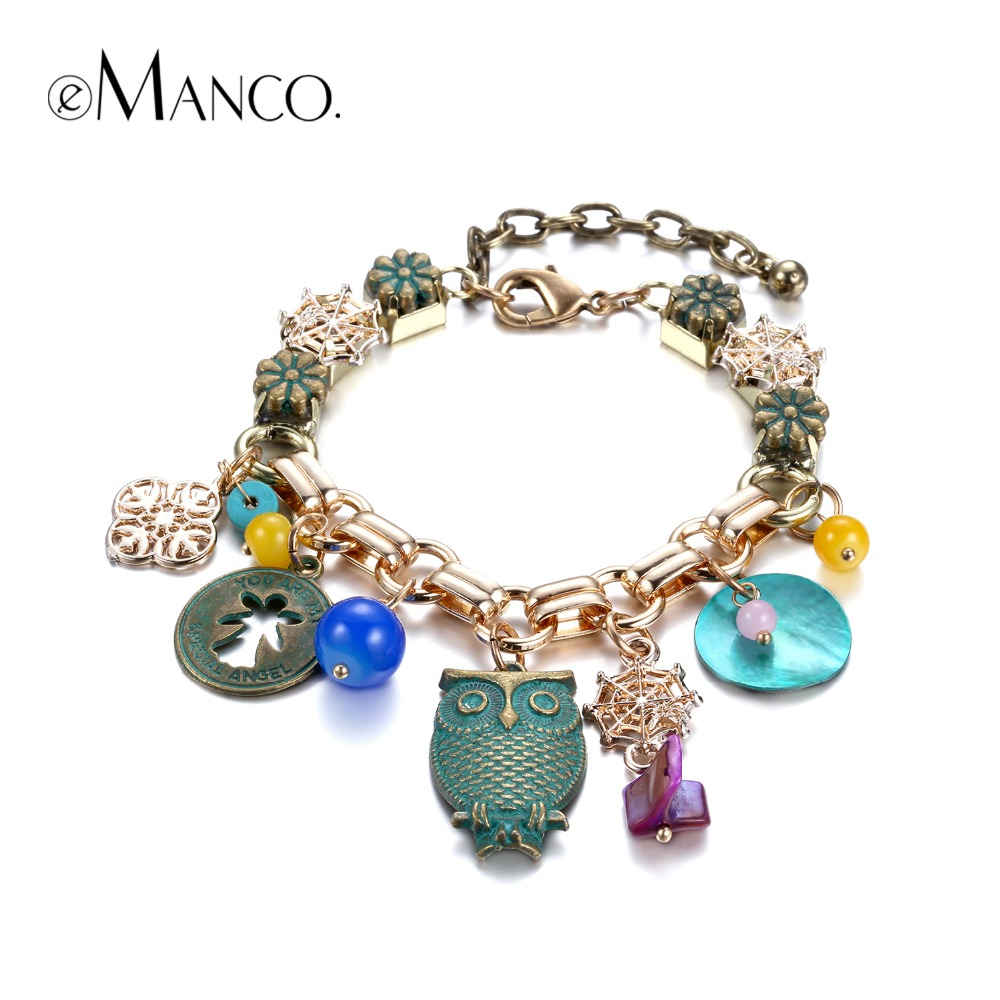 aliexpress buy animal bracelet gold charms
