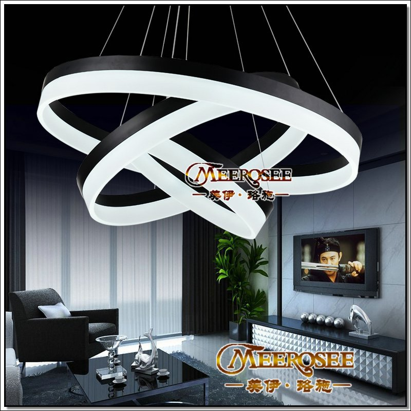 Modern Trends LED Chandelier Acrylic Round LED Light Fixture DIY Style Wire Adjustable LED Lamp for Hotel,Living Dining room(China (Mainland))