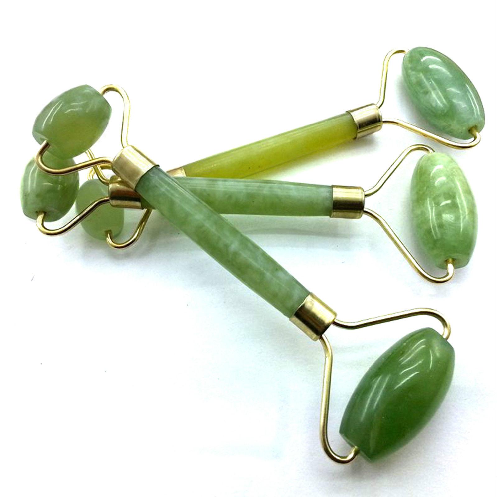 Nueva caliente port til pr ctico rodillo de jade masaje - Rodillo para lacar ...