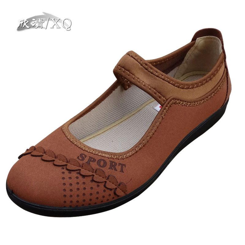 Flats Soft Sole Shoes Women Summer 2015 XQ Fashion Beijing Woman Light Breathable Casual - XQ_Astore store
