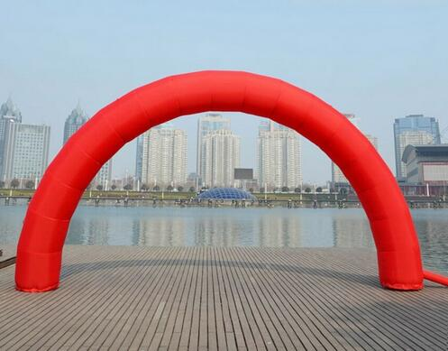 Brand New Discount 20ft*10ft D=6M/20ft inflatable Red arch Advertising(China (Mainland))