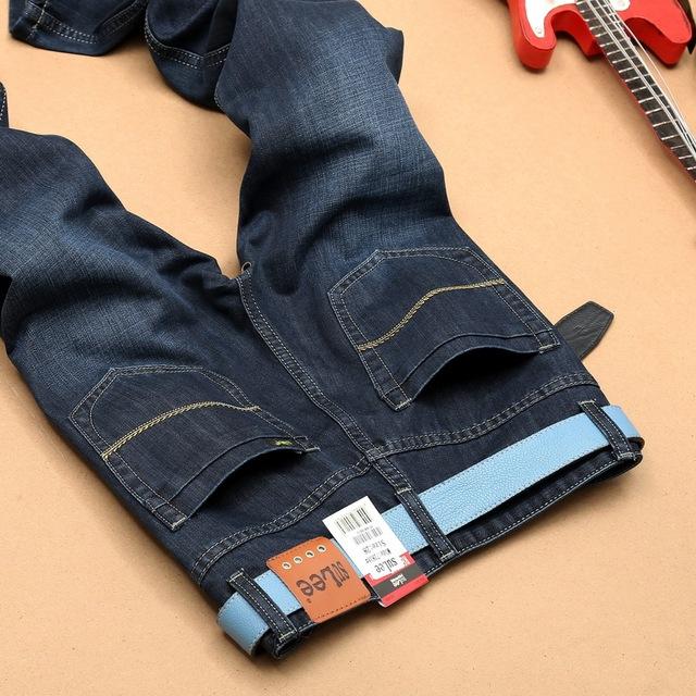 2016 марка мужчин джинсы Utr светло-тонкий весна лето джинсы стиль тонкий джинсы ...