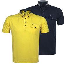 Новый гольф спортивную одежду с коротким рукавом модные гольф 6 цвета S-XXL для весна гольф футболка бесплатная доставка