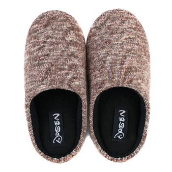 autumn and winter cotton-padded shoes lovers men Women at home floor slip-resistant thermal slippers