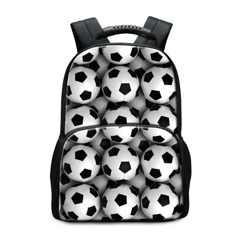Hot Sell School Backpack Patterns for Children Socceri Printing School Bags for Boys Footbally Back Pack Sporty Student Bookbags(China (Mainland))