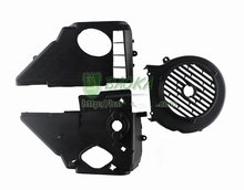 GY6 125 150 Motorcycle Scooter Engine Cooling Fan Fadiator Cover(China (Mainland))