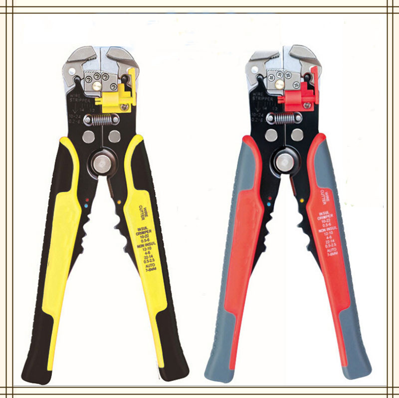 electrical tools pliers wire stripper multifunction dial automatic stripping pliers open pliers  multi-function<br><br>Aliexpress
