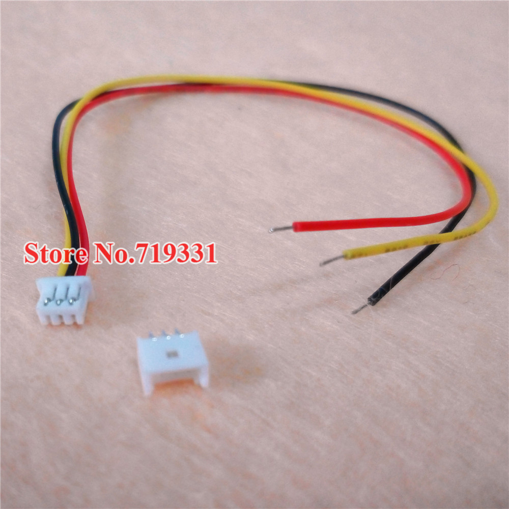 3 Pin Plug Connector Jst 1.25 3-pin Connector