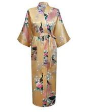 White Newest Women Lengthen Kimono Bathrobe Wedding Robe Night Gown Sleepwear Silk Satin Plus Size S-XXXL WR0012015(China (Mainland))