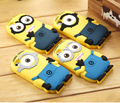 Cute Cartoon Minions Case For Coque iPhone 5 Case Silicone Kawaii Despicable Me Funda For Capa