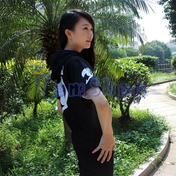 Fairy Tail Short Sleeve Hoodie-5