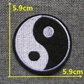1pcs hot melt adhesive embroidery Applique Iron On military Patches clothing pants accessory patches