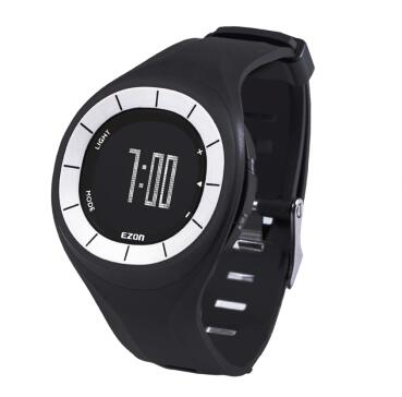 Sport watch for women Step gauge Motion tracking distance calories 50m waterproof running watch T028 free shipping